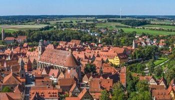 Die schönsten Städte an Tauber und Wörnitz aus der Luft  