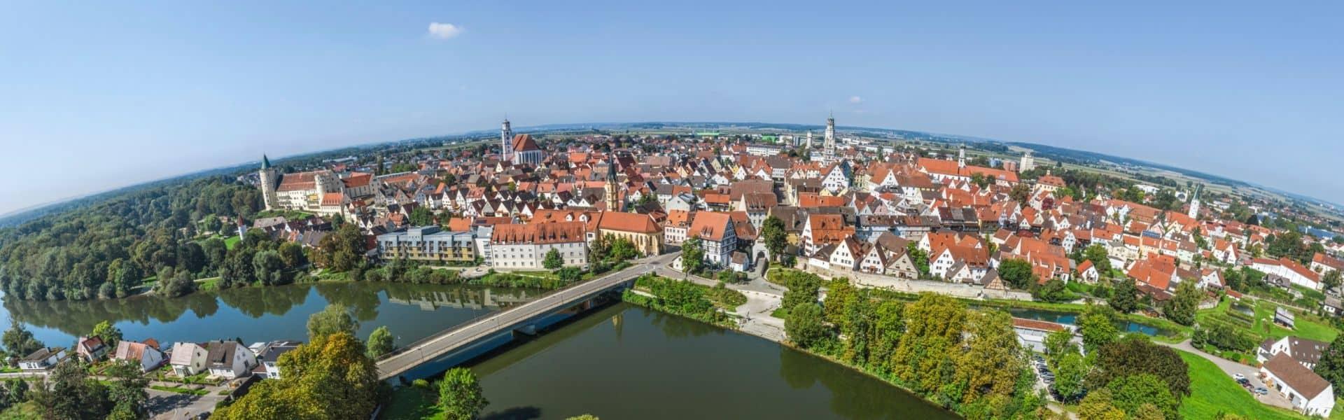 360° Panorama von Launigen an der Donau