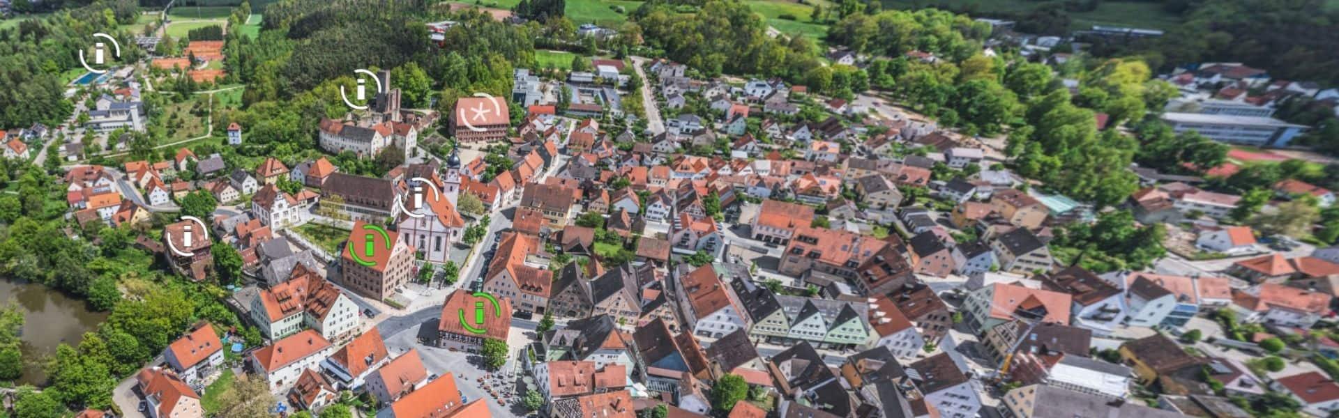 360 Grad Panorama Hilpoltstein