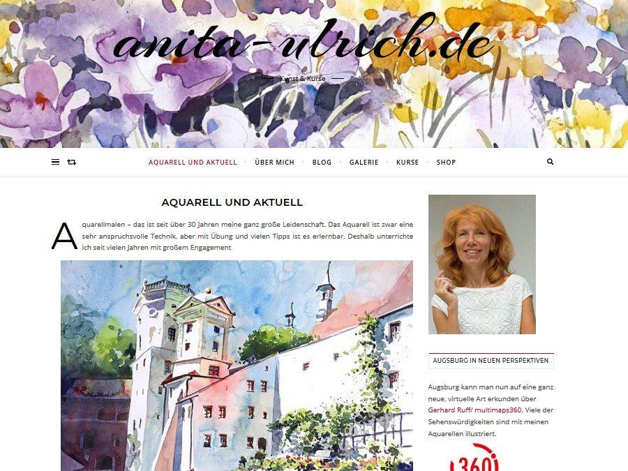 Anita Ulrich unterstützt die Panorama-Tour Augsburg Welterbe von multimaps360